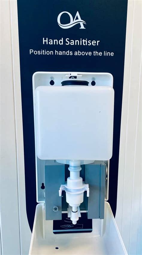 Stand Station Automatic Hand Sanitizer Dispenser – Deluxe ...