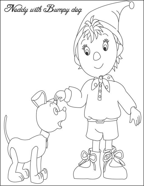Coloring Worksheets by Noddy Coloring Pages And Print For Free