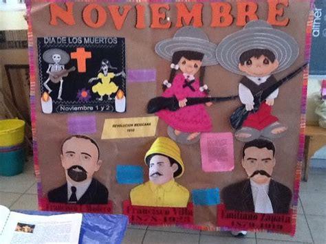 periodico mural de noviembre imagui soy maestra