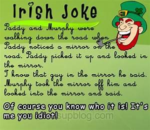 Irish humour post about irishman stranded on deserted island