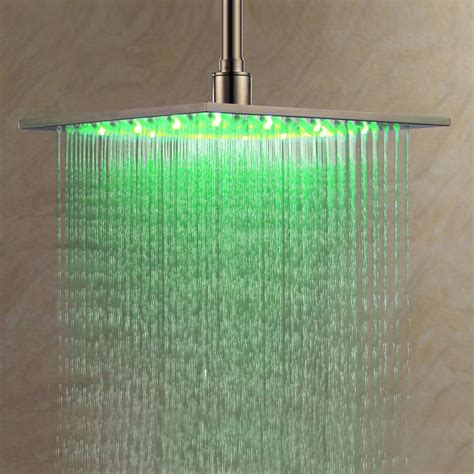Led Shower by 21 Best Led Shower Heads Ideas And Designs For 2019