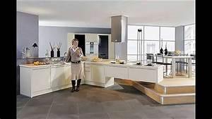 Cuisine Moderne Design : cuisine moderne americaine modele cuisine americaine youtube ~ Preciouscoupons.com Idées de Décoration