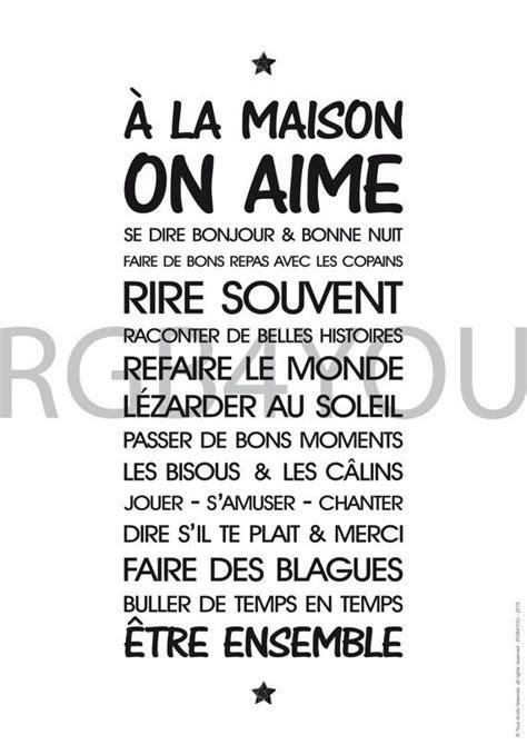 Tableau Regle De Vie by Tableau Regle De Vie A La Maison Imprimer Avie Home