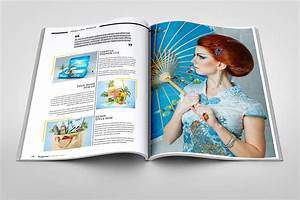 10 fabulous fashion magazine templates for free download With magazine layout templates free download