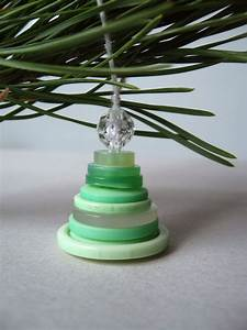 Roots, Of, Simplicity, Stacked, Button, Christmas, Tree, Ornaments