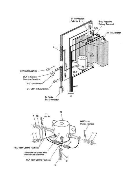 Need Wire Diagram For Ezgo Txt Volt Golf Cart