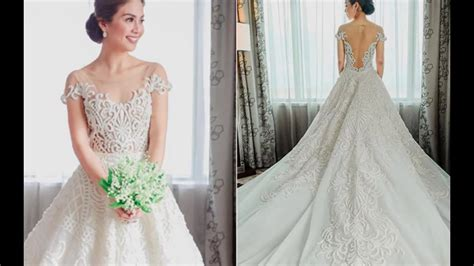 Filipino Celebrity Wedding Dresses Youtube