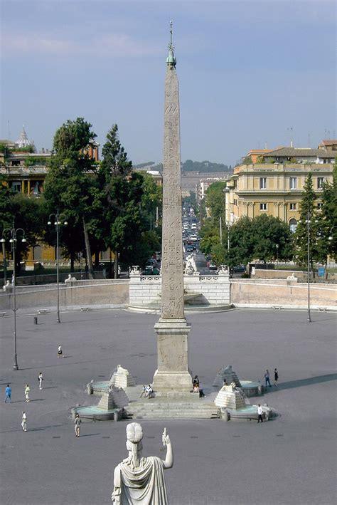 cuisine de constantine flaminio obelisk at piazza popolo rome italy visititaly info