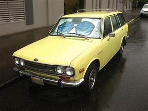 OLD PARKED CARS 1969 Datsun 510 Wagon