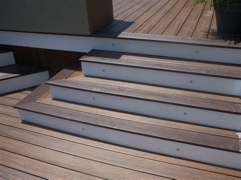 Installing Trex Decking On Stairs by Composite Decking Used As Stairs Search Deck
