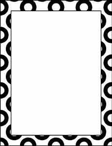 Border Design Black And White Clipart Best Borders For ...