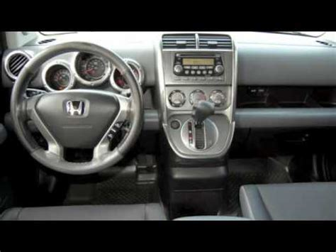 honda element  interior exterior youtube