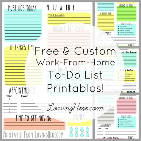 Todo Or Not Todo Free Printables For You!  Loving Here