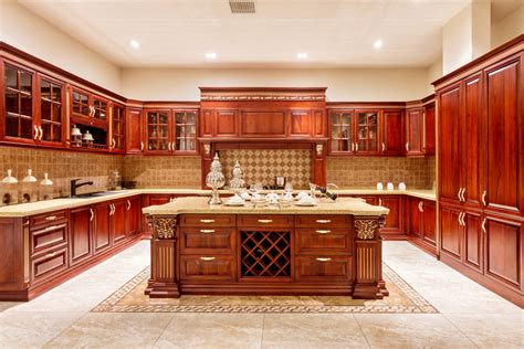 granite kitchen islands the advantages of solid wood cabinets