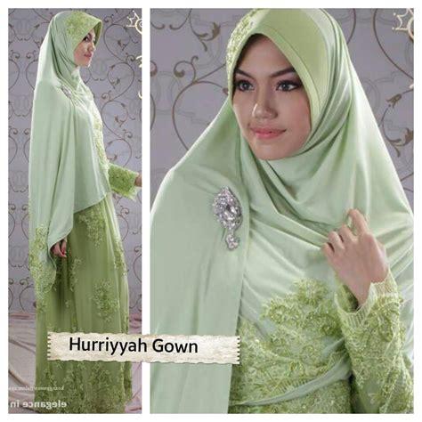 hurriyah gown baju lamaran islami baju lamaran muslimah