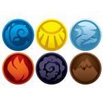 Element Symbols Deviantart Pk Elements Elemental Fire