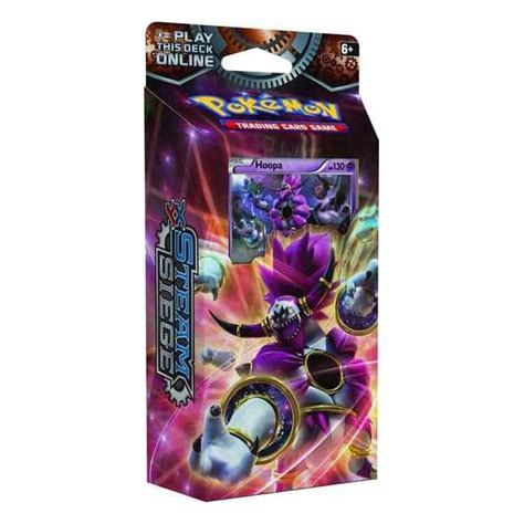 theme deck hoopa ring of lightning theme deck for xy steam siege