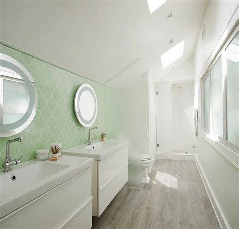 galley bathroom ideas bathroom with separate washstands design decor
