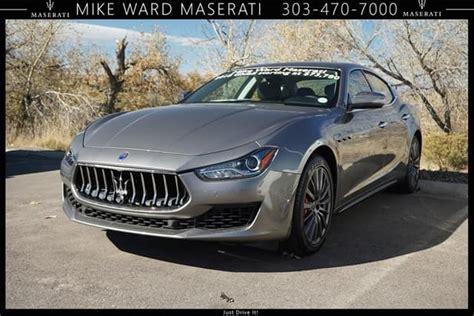 Maserati Of Denver by 2018 Maserati Ghibli S Q4 Awd Luxury Sedan Discounted Near