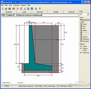 Download free retainwall