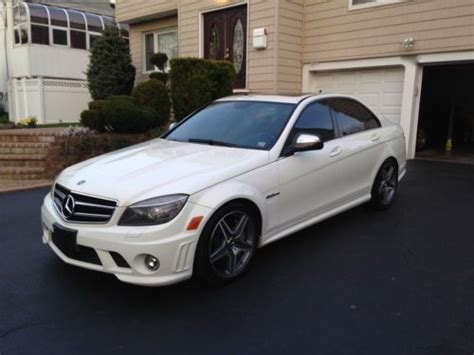 Purchase Used 2009 Mercedesbenz C63 Amg Low Price
