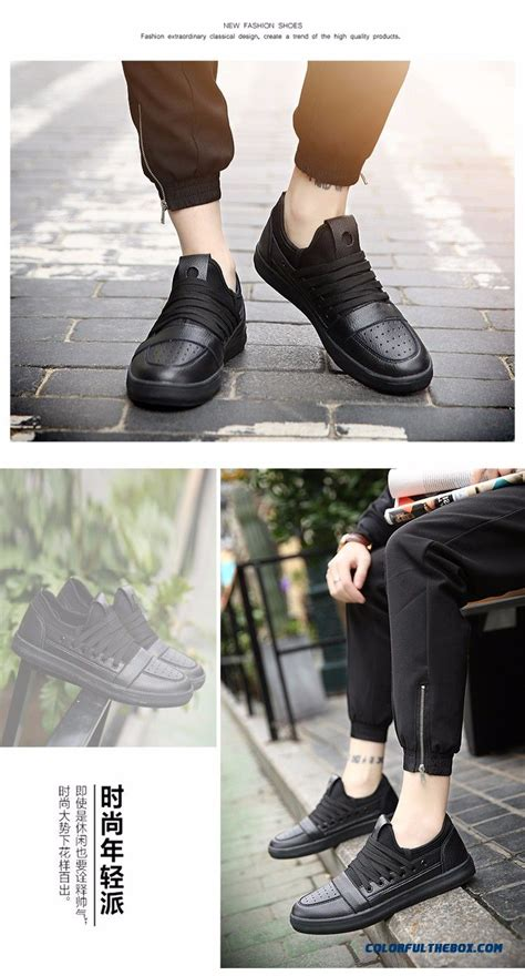 cheap   spring mens casual shoes fashions leather shoes men black shoes  men zapatos