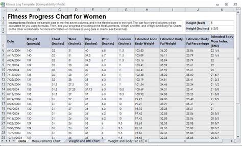 fitness log template weight loss journal template