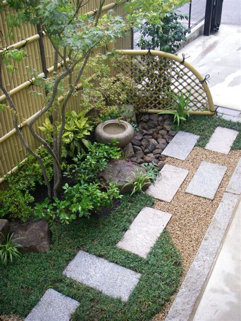 ideas  small japanese garden  pinterest
