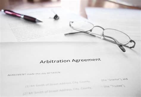 utilizing arbitration agreements effectively