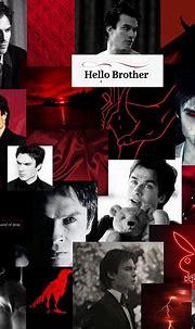 Damon Salvatore aesthetic collage wallpaper | Vampire ...
