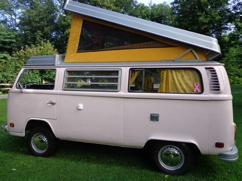 volkswagen westfalia cer purchase used 1977 vw westfalia bus cer van 88 000