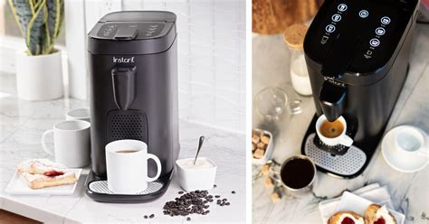 Pod coffee makers are a perfect way to kick start your morning. Instant Pod Coffee & Espresso Maker ONLY $79.88 (Reg $119) - Daily Deals & Coupons