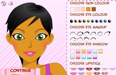 jeux de coiffeuse et maquilleuse jeux de maquillage et coiffure et habillage