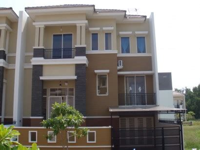 gambar contoh warna kombinasi cat interior rumah minimalis