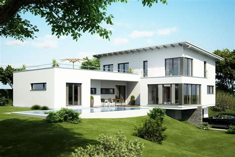 Mit Dachterrasse by Fertighaus Architektenhaus Adamello Einfamilienhaus Mit