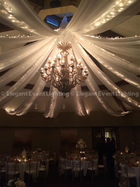 Chandelier Ceiling Canopy elegant event lighting chicago weekend in reviewelegant