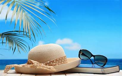 Sunglasses Hat Straw Wallpapers Wallpaperup