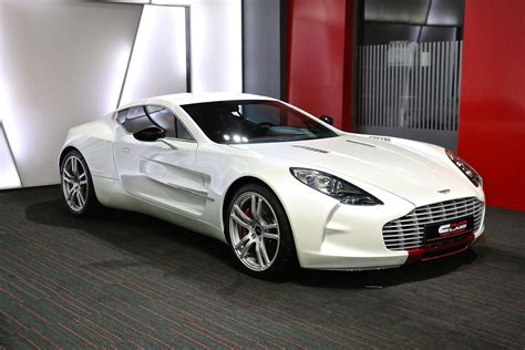White Aston Martin One 77 For Sale Gtspirit