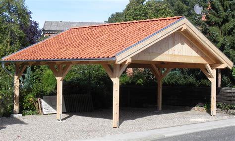 Carport Holz Satteldach Bausatz  Haus Und Design