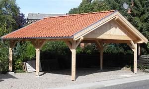 Carport Aus Holz : satteldach carport holzgaragen als individueller bausatz ~ Whattoseeinmadrid.com Haus und Dekorationen