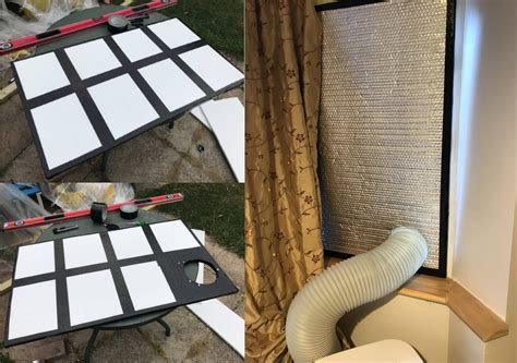 insulated portable air conditioner window vent seal techlifediy