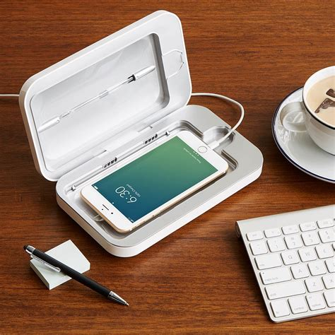 PhoneSoap Smartphone Sanitizer | Phone Cleaner | UncommonGoods