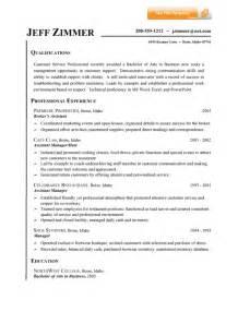 customer service summary resume customer service resume summary jvwithmenow