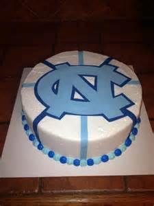 UNC Tar Heels Birthday Cake