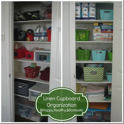 Cupboard Organization by Alex Haralson Organizing Linen Closets