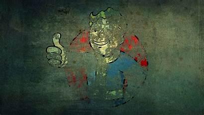 Boy Vault Gangster Fallout Background Grunge Games