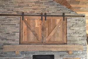 wood log fireplace mantels enterprise wood products With barn board mantel