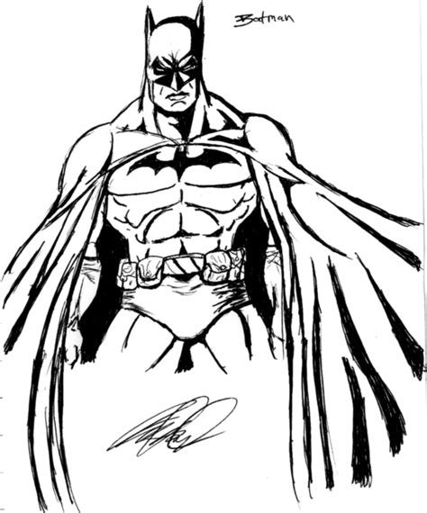 coloriages  imprimer batman numero