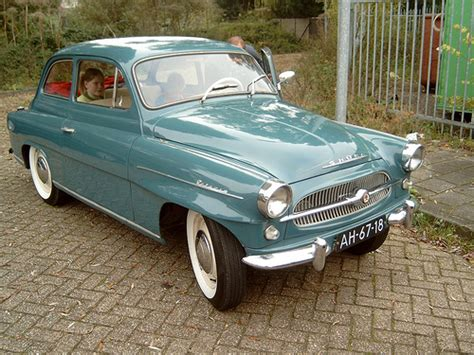 1960 Skoda Octavia Spartak   Skodas have always been ...