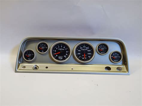 chevy truck dash panel  sport comp ii gauges